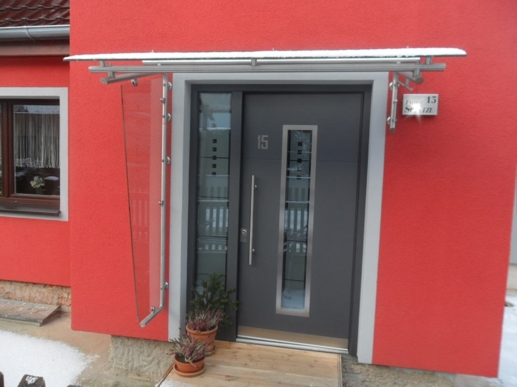 Haustürvordach Mit Seitenteil haustürüberdachung mit seitenteil mv01 messianica